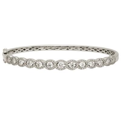 18k White Gold Bracelet B003334