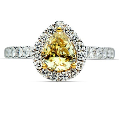 18k Yellow Gold Ring R003240
