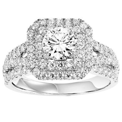 14K Diamond Engagement Ring 1 ctw WB6001E