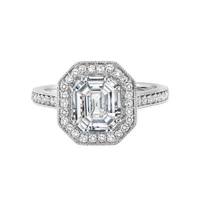14K Diamond Engagement Ring 1 ctw WB6012E
