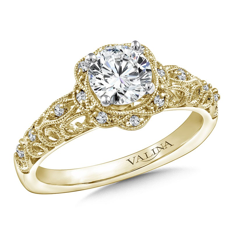 Engagement Ring R9813Y