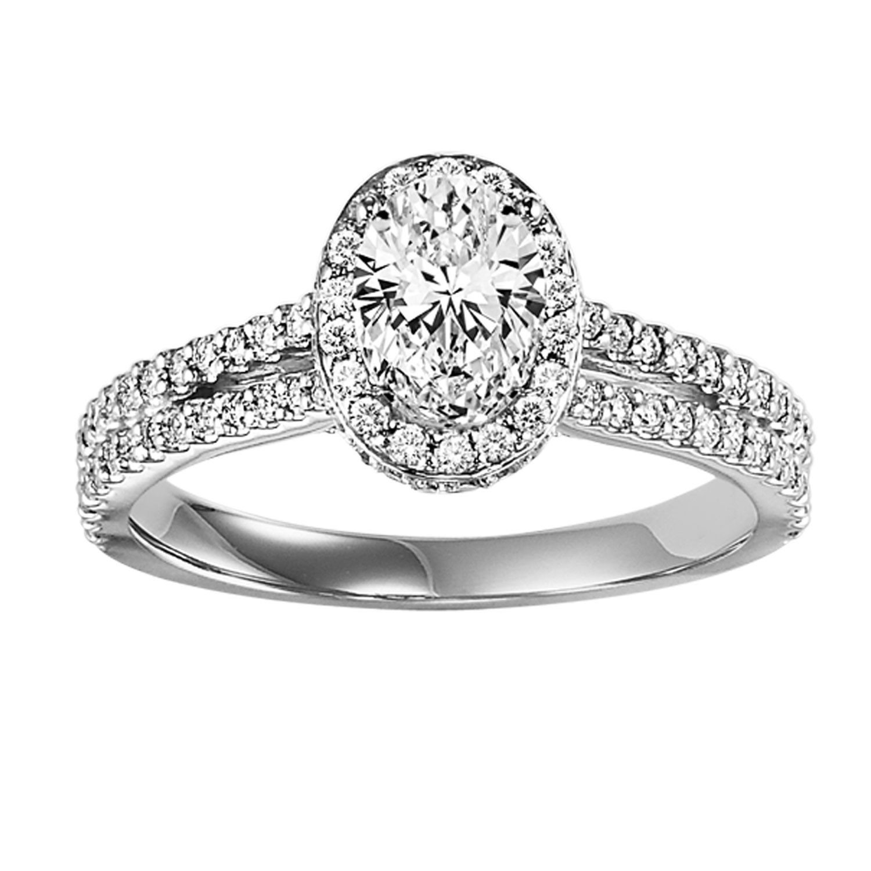 14K Diamond Engagement Ring 1/2 ctw WB5731E