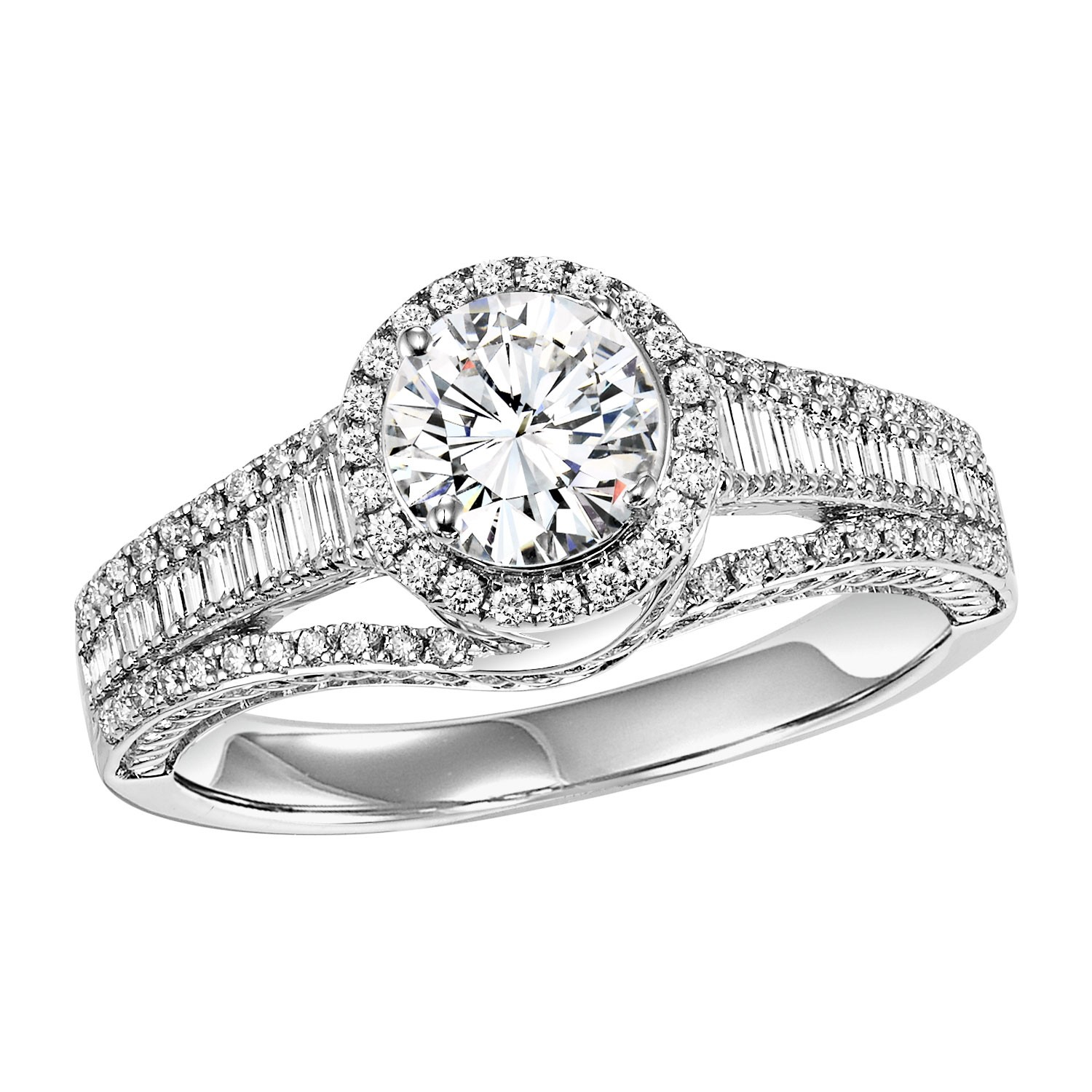 14K Diamond Engagement Ring 1/2 ctw WB5929E