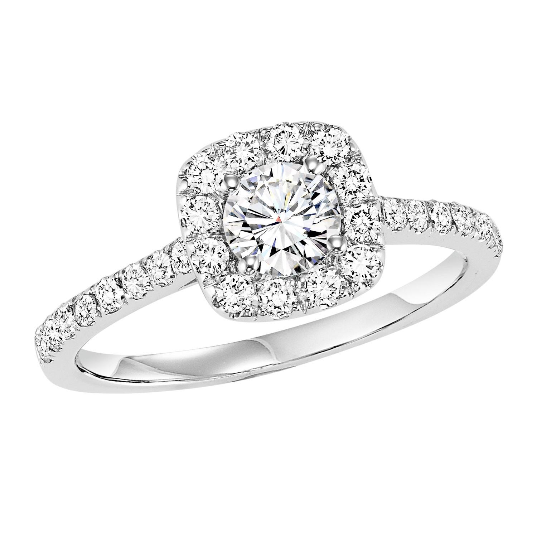 14K Diamond Engagement Ring 1/2 ctw WB5978E