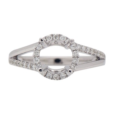 18k White Gold Ring M003612